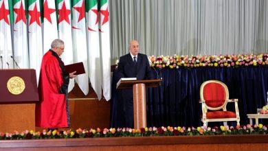 Photo of عبد المجيد تبون يؤدي اليمين الدستورية