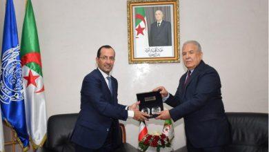 Photo of المدير العام للأمن الوطني يستقبل سفير دولة الكويت بالجزائر